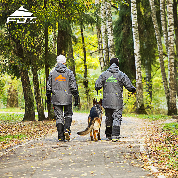 Professional Dog Trainer Jacket of Quality for All Weather