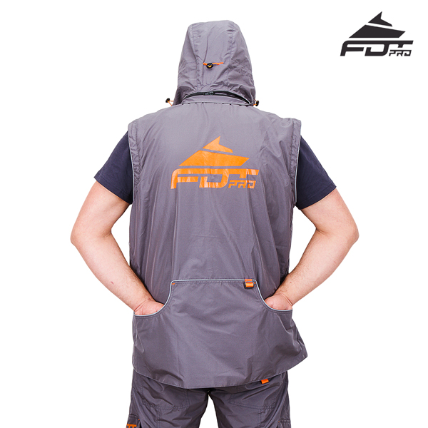 Top Rate Dog Trainer Suit Grey Color from FDT Wear