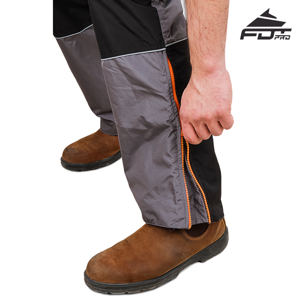 FDT Pro Design Dog Trainer Pants with Reliable Zippers