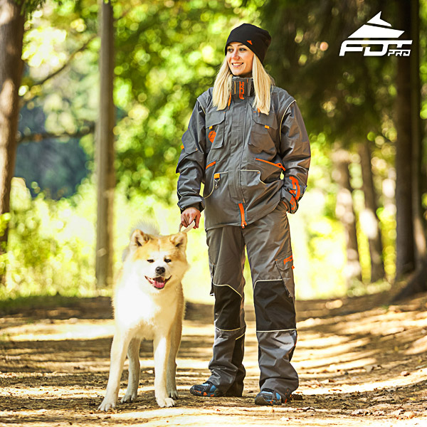 Professional Unisex Design Dog Training Jacket of Finest Quality Materials