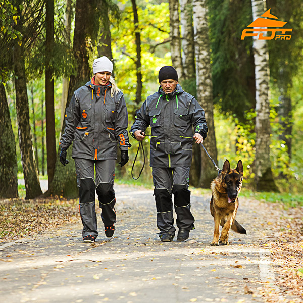 Unisex Dog Tracking Suit for Men and Women for Any Weather Conditions